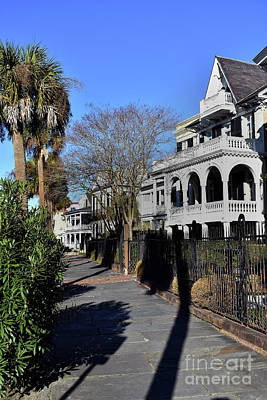 Photograph - South Battery Charleston by Skip Willits
