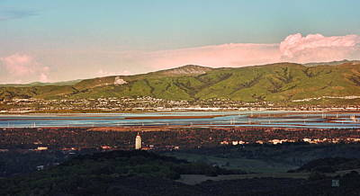 Photograph - South Bay With Stanford by Geoffrey Lewis