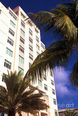 South Beach Art Deco District Art Print by Thomas R Fletcher