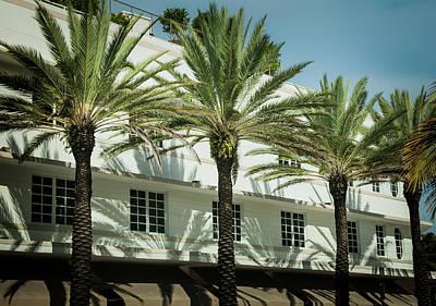 Photograph - South Beach Balance by Karen Wiles