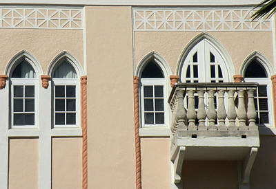Photograph - South Beach Balcony by Rosalie Scanlon