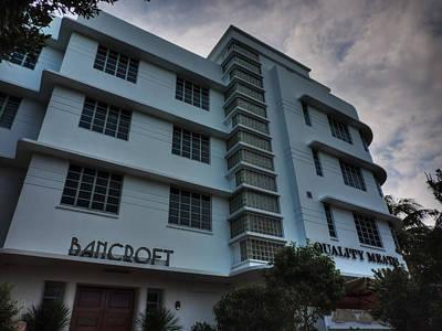 Street Photograph - South Beach - Bancroft Hotel 001 by Lance Vaughn