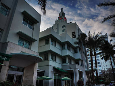 Photograph - South Beach - Collins Avenue 004 by Lance Vaughn