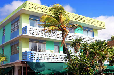 Photograph - South Beach Colors by John Rizzuto