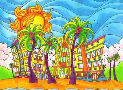 South Beach Original by Denyse Dar