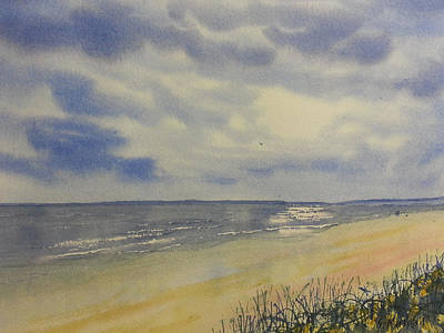 Painting - South Beach From The Dunes by Glenn Marshall