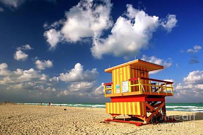 Photograph - South Beach by John Rizzuto