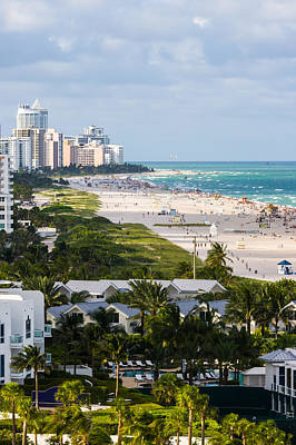 Photograph - South Beach Late Afternoon by Ed Gleichman