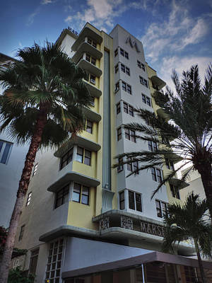 Photograph - South Beach - Marseilles Hotel 001 by Lance Vaughn