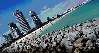 South Beach, Miami  Original by Roesch