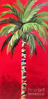 Painting - South Beach Palm II by Kristen Abrahamson