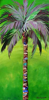 Painting - South Beach Palm IIi by Kristen Abrahamson