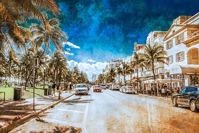 Photograph - South Beach Road by Melinda Ledsome