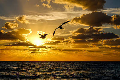 Photograph - South Beach Sunrise 2 by John McArthur
