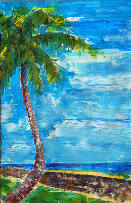 Painting - South Beach Wall by Thomas Lupari