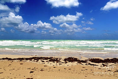 Photograph - South Beach Waves by John Rizzuto