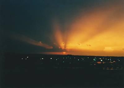 Photograph - South Beloit Ilinois Sundown by Gene Linder