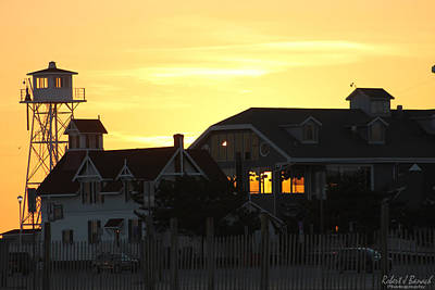 Photograph - South Boardwalk Sunset by Robert Banach