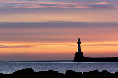 Photograph - South Breakwater At Dawn - 2 by Veli Bariskan