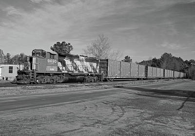 Photograph - South Carolina Central Bw 1 by Joseph C Hinson Photography
