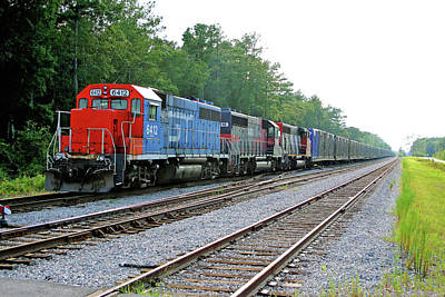 Photograph - South Carolina Central Railroad 2005 A by Joseph C Hinson Photography