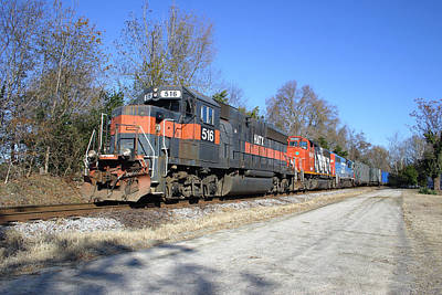 Photograph - South Carolina Central Train 10 by Joseph C Hinson Photography