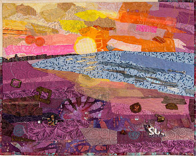 Tapestry - Textile - South Carolina Dawn by Martha Ressler