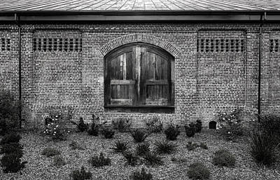 Photograph - South Carolina Railroad Freight Door - 4 by Frank J Benz