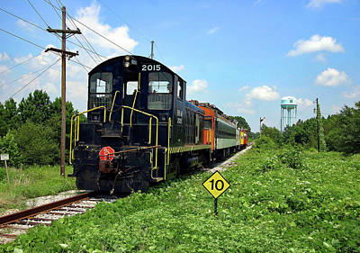 Photograph - South Carolina Railroad Museum 2004 C by Joseph C Hinson Photography
