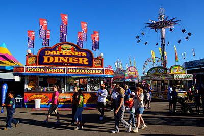Photograph - South Carolina State Fair 2010 by Joseph C Hinson Photography