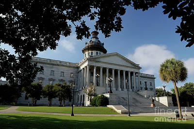 South Carolina State House 2 Art Print