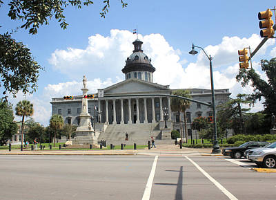 Photograph - South Carolina State House 6 26 by Joseph C Hinson Photography