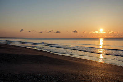 Photograph - South Carolina Sunrise by Erika Fawcett