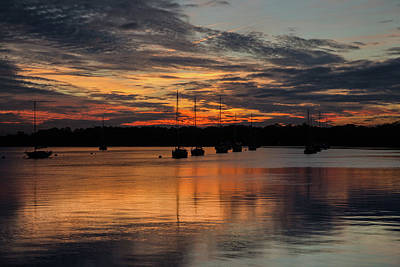 Photograph - South Carolina Sunset by John Haldane
