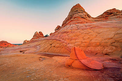 Photograph - South Coyote Buttes by Johnny Adolphson
