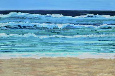 Painting - South Curl Curl by Elizabeth Langreiter