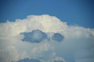 Fluffy Clouds Mixed Media - South Dakota August Clouds 03 by Thomas Woolworth