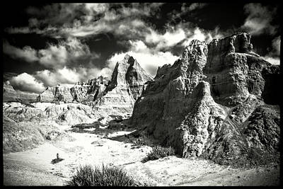 Photograph - South Dakota Badlands National Park by Roger Passman