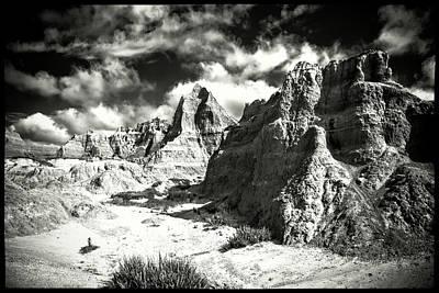 Photograph - South Dakota Badlands National Park by Roger Passman