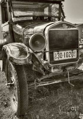 Photograph - South Dakota Classic Sepia Tone by Mel Steinhauer
