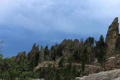 Photograph - South Dakota Highway 87 - Needles Highway by Christiane Schulze Art And Photography