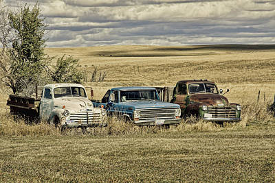 Photograph - South Dakota Oldies 2 by Tatiana Travelways