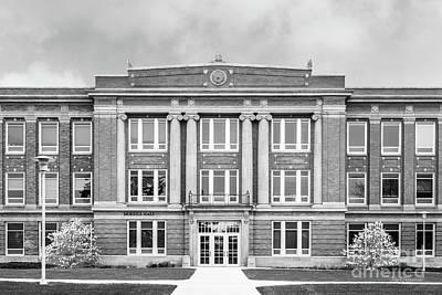 Photograph - South Dakota State University Merrill Hall Entry by University Icons