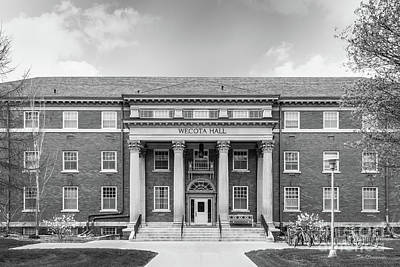 Photograph - South Dakota State University Wecota Hall by University Icons