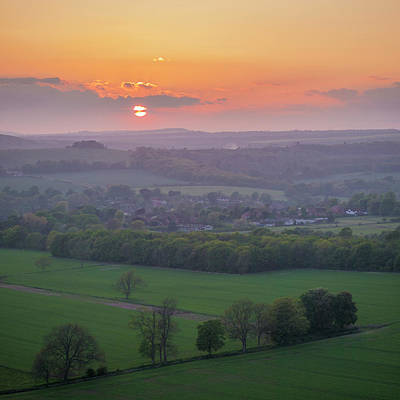 Photograph - South Downs Haze by Hazy Apple