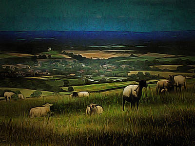 Photograph - South Downs View by Dorothy Berry-Lound