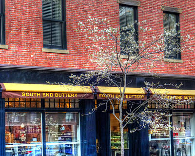Photograph - South End Buttery At Spring South End Boston Ma by Toby McGuire