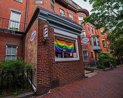 South End Gay Pride Month Flag Boston Ma Art Print by Toby McGuire