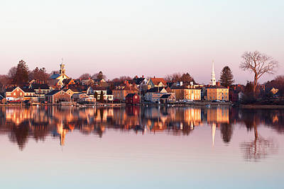 Nh Photograph - South End Reflections by Eric Gendron