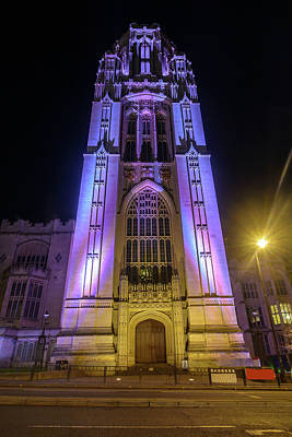 Photograph - South Facade Of Wills Memorial Building Bristol by Jacek Wojnarowski